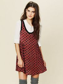 Molly Dot Swing Dress at Free People