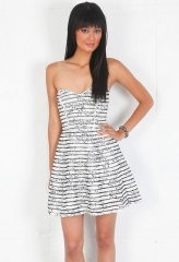 Molly striped dress by Parker at Singer 22