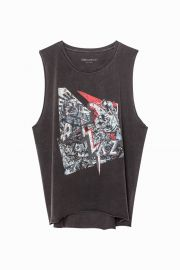 Moly Bis Overdyed Tank Top by Zadig & Voltaire at Zadig & Voltaire