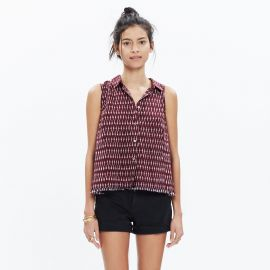 Moment Shirt in Ikat Print at Madewell