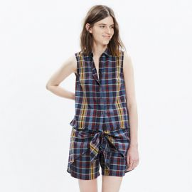 Moment Shirt in Madras Plaid at Madewell