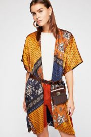 Mon Cheri Silky Patchwork Kimono at Free People