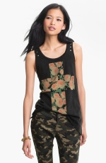 Mona's floral tank top at Nordstrom