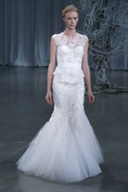 Monique Lhuillier Fall 2013 Gown at Brides