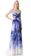 Monique Lhuillier gown at Shopbop