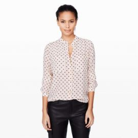 Monique Silk Shirt at Club Monaco