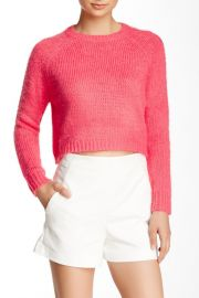 Monster Fluffy Crop Sweater at Nordstrom Rack