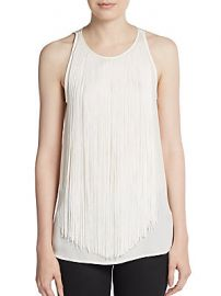 Montien Silk Top by Theory at Saks Off 5th
