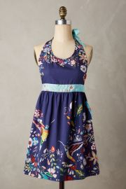 Moonbloom apron at Anthropologie