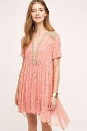 Morning Glory Swing Dress at Anthropologie