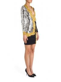 Moschino - Sequin Detail Graphic Dress at Saks Off 5th