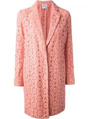 Moschino Cheap andamp Chic Floral Lace Coat - Stockholm Market at Farfetch