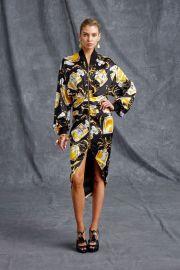 Moschino Resort 2016 Perfume print dress at Vogue