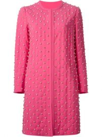 Moschino Strass Quilted Coat - at Farfetch