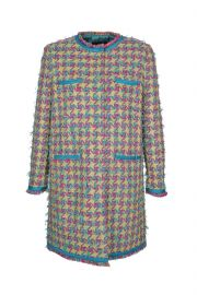 Moschino long tweed jacket at Shoptiques