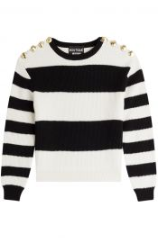 Moschino striped sweater at Stylebop