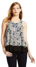 Mossimo Double Layer Flounce Top at Target