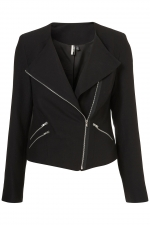 Moto jacket from Topshop at Topshop