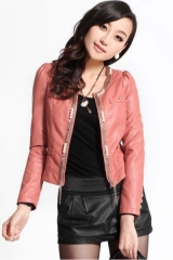 Motor Cropped Jacket at Oasap