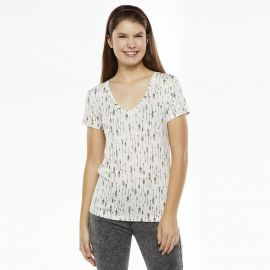 Mudd Basic Vneck Tee at Kohls
