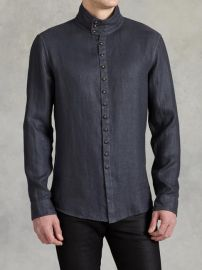 Multi Button Shirt at John Varvatos