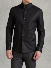 Multi Button Shirt Jacket at John Varvatos