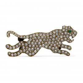 Multi-Finger Ring with Tiger at Gucci