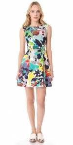 Multi colored dress like Carries at Shopbop