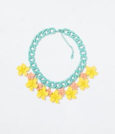 Multicolor Effect Necklace at Zara