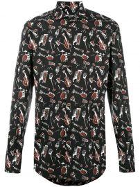 Musical Instrument Print Shirt by Dolce & Gabbana at Farfetch