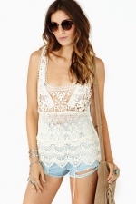 My Generation Crochet Tank at Nasty Gal