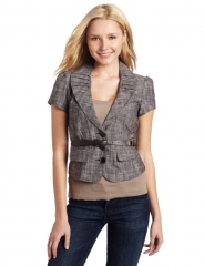My Michelle Short Sleeve Blazer at Amazon