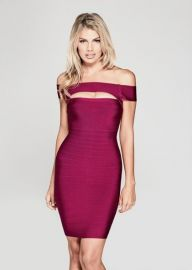 Mystique Bandage Dress by Guess at Guess