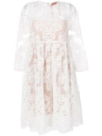 N  186 21 Lace Skater Dress  1 535 - Buy Online - Mobile Friendly  Fast Delivery  Price at Farfetch