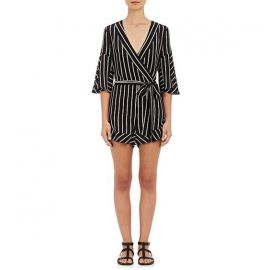 N Nicholas Striped Playsuit at Barneys Warehouse