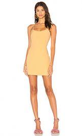 NBD Aria Mini Dress in Sunshine from Revolve com at Revolve