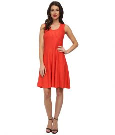 NIC ZOE Twirl Dress Hot Coral at 6pm