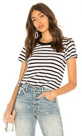 NSF Alessi Tee in White  amp  Black from Revolve com at Revolve