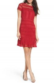 NSR Lace Fit   Flare Dress at Nordstrom