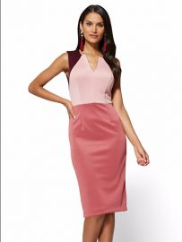 NY Deals colorblock sheath dress at NY&C