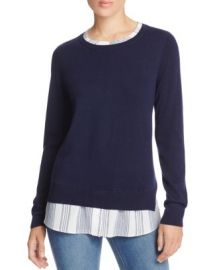 NYDJ Layered Effect Sweater at Bloomingdales