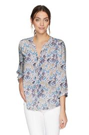 NYDJ Womens Pintuck Blouse at Amazon