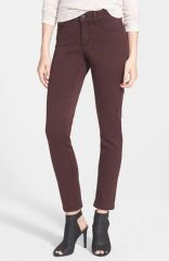 NYDJ and39Alinaand39 Colored Stretch Skinny Jeans in port at Nordstrom