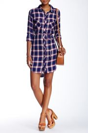 Nadine Plaid Tunic Dress at Nordstrom Rack