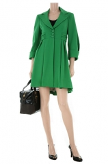 Nanette Lepore Ferry Boat Coat in green at Nordstrom