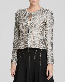 Nanette Lepore Jacket - Zebra Print at Bloomingdales