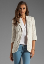 Nantucket blazer by Central Park West at Revolve