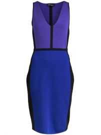 Narciso Rodriguez Color Block Dress - at Farfetch