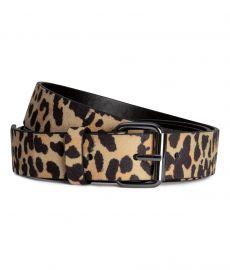 Narrow Belt in Leopard Print at H&M