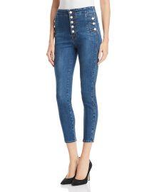 Natasha Sky High Skinny Crop Jeans at Bloomingdales